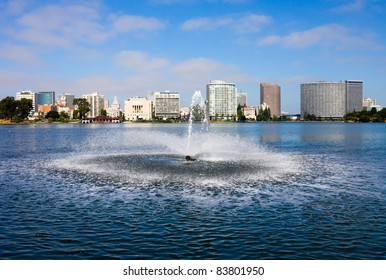Lake Merritt in Oakland, California