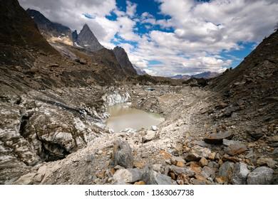 Lake Miage, Aosta, Aosta Valley, Italy