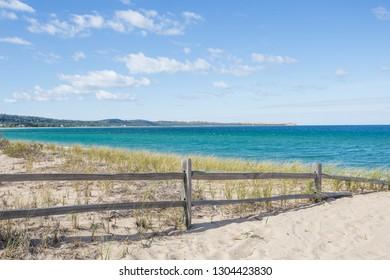 Lake Michigan beach near Glen Arbor, Michigan