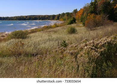 Lake Michigan Beach from Upper Peninsula