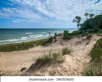 Lake Michigan at Indiana Dunes National Park