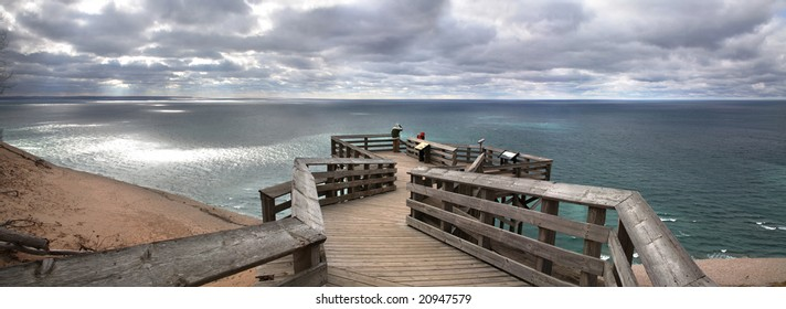 Lake Michigan Overlook, Sleeping Bear Sand Dunes, Michigan