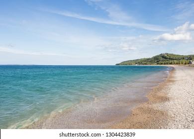 Lake Michigan shoreline near Glen Arbor, Michigan