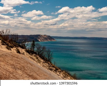 Lake Michigan from the Sleeping Bear Dunes