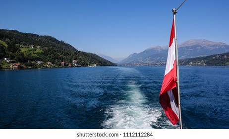 Lake Millstatt in Carinthia Austria