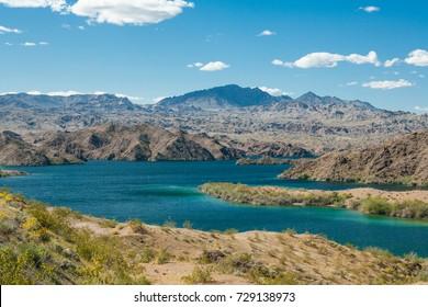 Lake Mohave at Lake Mead National Recreation Area near Bullhead City, Arizona, USA