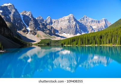 Lake Morraine, Banff National Park, AB