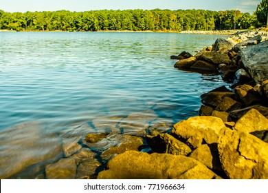 lake murray south carolina coast and pier
