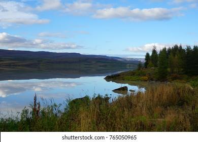 Lagarfljót lake near Egilsstaðir