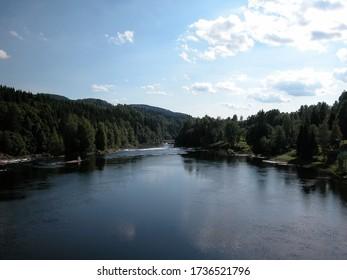 A lake near Stokke, Norway