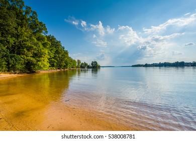Lake Norman, at Jetton Park, in Cornelius, North Carolina.