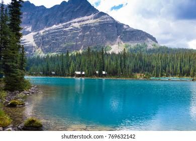 Lake O'hara in the Yoho national park, Canada