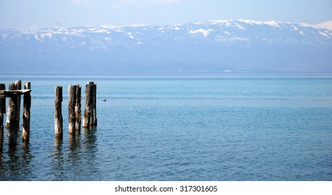 Lake Ohrid, Macedonia. Unesco heritage site