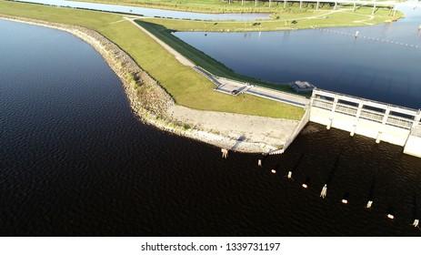 Lake Okeechobee Drone Photos