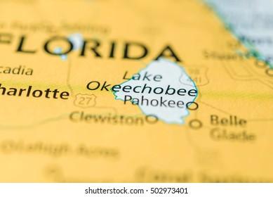 Lake Okeechobee, Florida, USA.