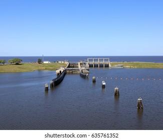 Lake Okeechobee and Port Mayaca Locks & Dam