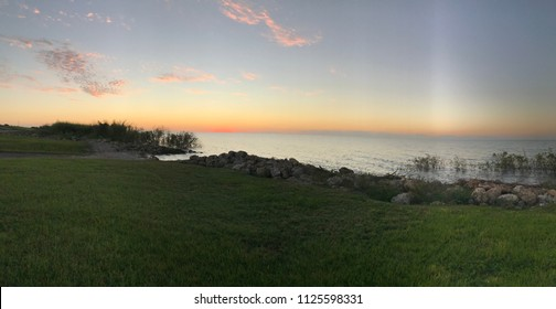 Lake Okeechobee sunset