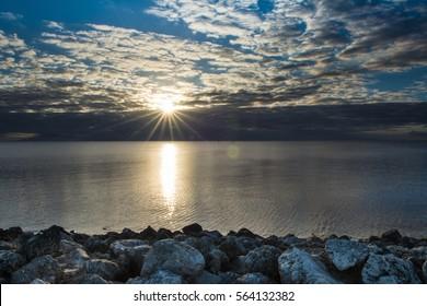 Lake Okeechobee Sunset, Florida