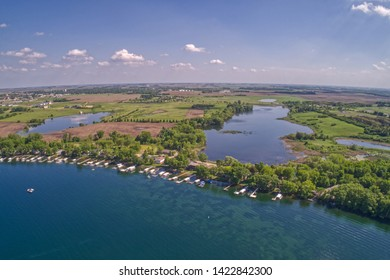 Lake Okoboji is a popular Tourist Area known as the Great Lakes of Iowa