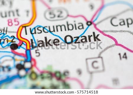 Lake Ozark Missouri Usa Stock Photo Edit Now 575714518 Shutterstock