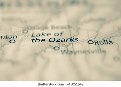 Lake of the Ozarks, Missouri, USA.