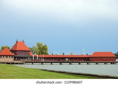 Lake Palic Subotica Serbia landscape