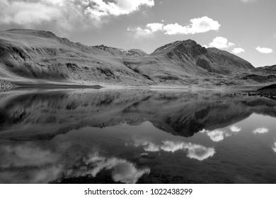 A lake in the Pamir mountains, Tajikistan