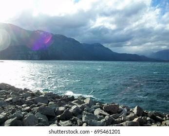 A lake in Patagonia