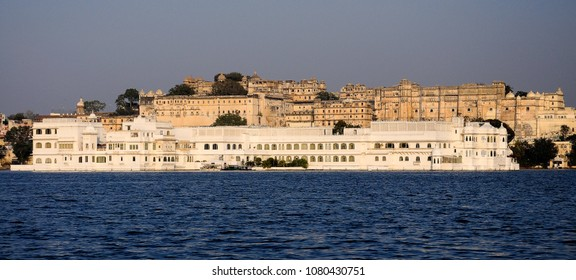 Lake Pichola, Udaipur, Rajasthan - A series of palaces situated on the most famous lake in India.