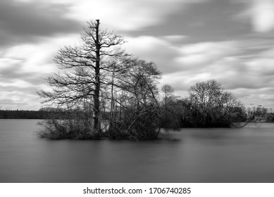 Lake Placid in black and white - Shutterstock ID 1706740285