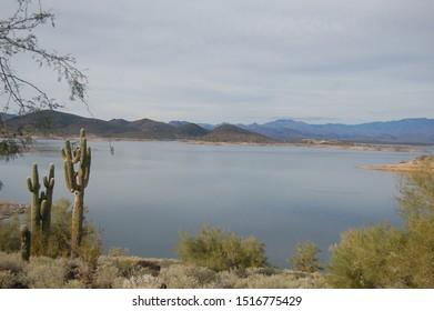 Lake Pleasant, near Phoenix, Maricopa County, Arizona.