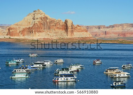 Lake Powell Arizona October 7 2007 Stock Photo Edit Now 566910880