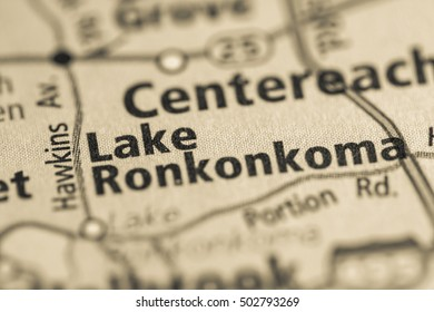 Lake Ronkonkoma. New York. USA.
