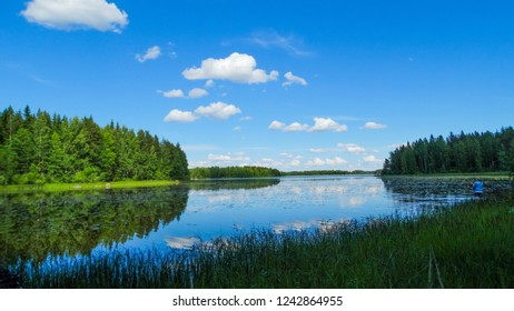 Lake Rouvesi, Finland
