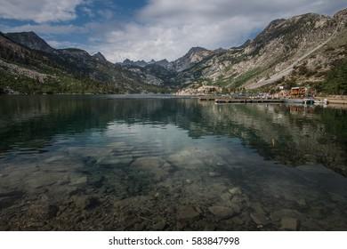Lake Sabrina Boat Landing in Inyo National Forest, California