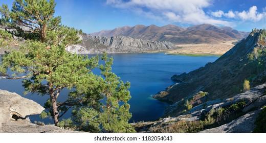 Lake Sibiny in Eastern Kazakhstan, tourism in Kazakhstan