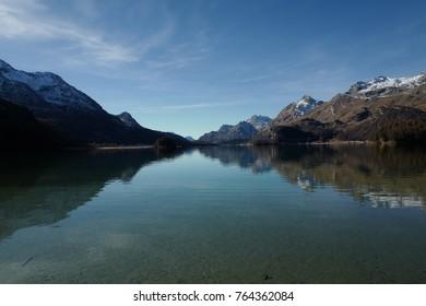 Lake of Sils Engadine, Switzerland