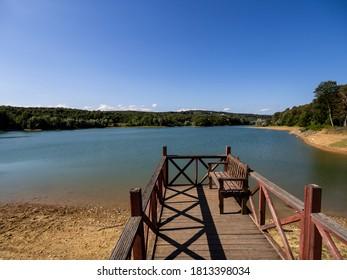 A lake in Sinop, Turkey