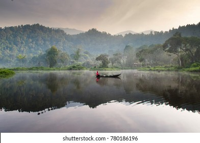Lake Situ Gunung or know as Situ Gunung. It's part of Gede Pangrango Mount National Park. It's located in Sukabumi or 106 km away from Jakarta.