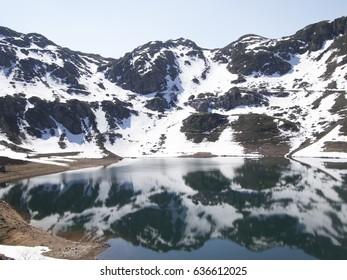 Lake. Somiedo Natural Park. Asturias.