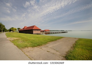 lake in Subotica
