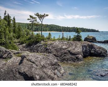 Lake Superior Rocky North Shore