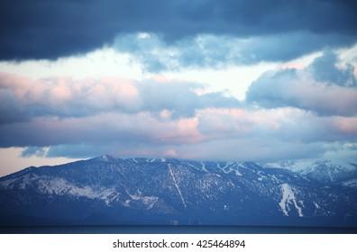 Lake Tahoe mountain
