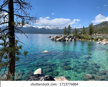 Lake Tahoe in the Spring
