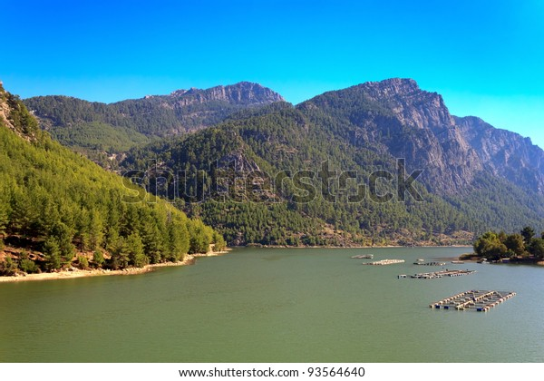 Lake in the Taurus Mountains, Turkey