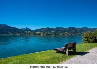 Lake Tegernsee in bavarian alps