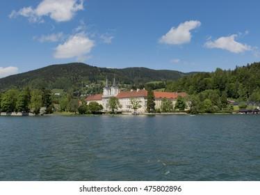 lake Tegernsee landscape, Germany