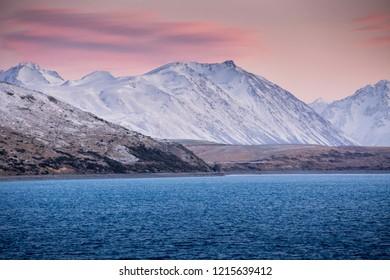 lake Tekapo beautiful landscape