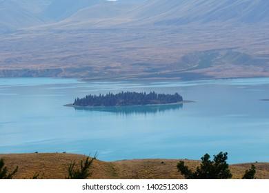 Lake Tekapo in New Zea Land