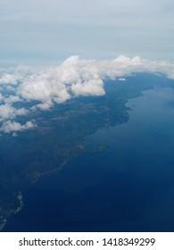 Lake toba and Samosir island, north sumatera, Indonesia